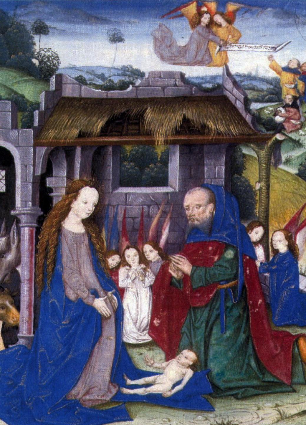 Kerstfeest In De Middeleeuwen Kathedralenbouwers